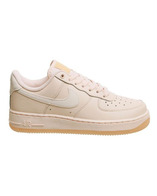 ... Nike - Multicolor Air Force 1 07 Trainers - Lyst ... 7b1e8717f