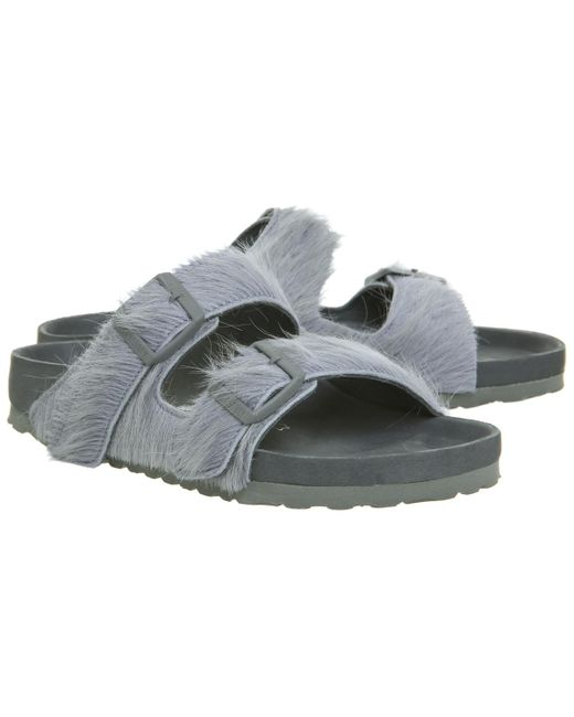 7c32fb6ee8c8 ... Rick Owens - Gray Ro Arizona Two Strap Sandals for Men - Lyst