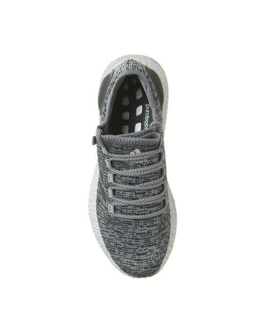 35cf0095cf8e6 ... Adidas Originals - Gray Pureboost for Men - Lyst ...