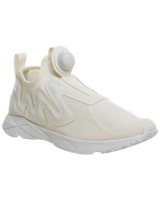 Reebok | White Pump Plus Supreme | Lyst