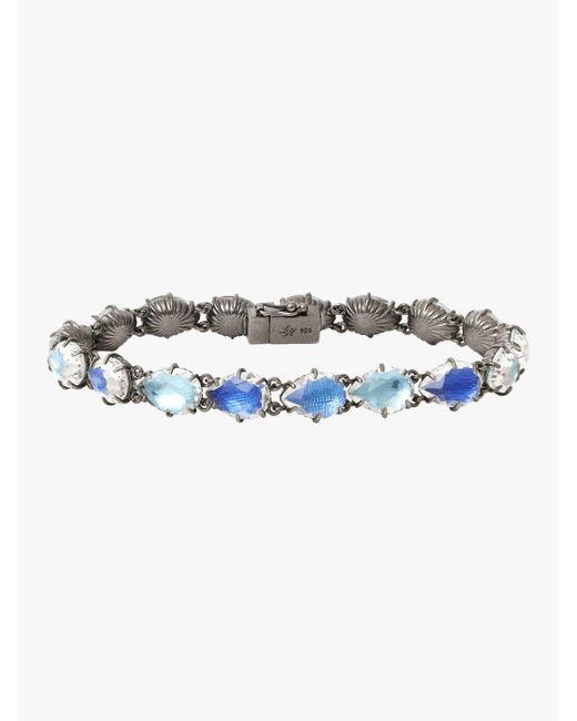 Larkspur & Hawk - Blue 'caterina' Bracelet - Lyst
