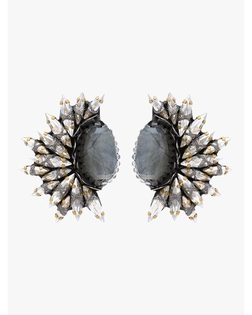 Deepa Gurnani - Multicolor Kaila Clip-on Earrings - Lyst