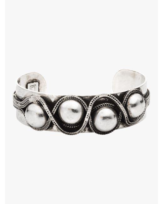 DANNIJO - Metallic Landon Cuff Bracelet - Lyst