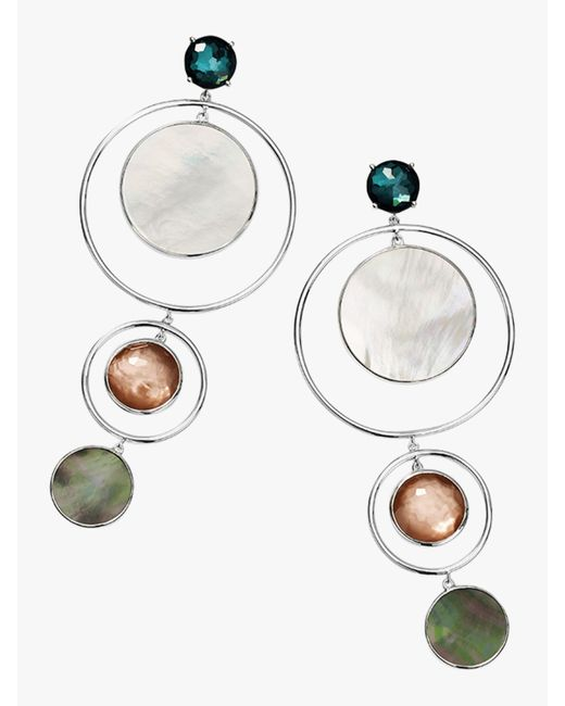 Ippolita - Metallic Wonderland Statement Earrings - Lyst