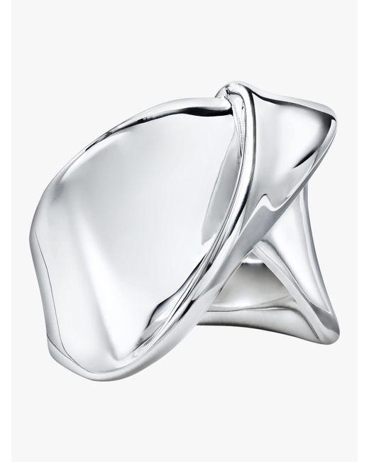 Ippolita - Metallic Classico Folded Ribbon Ring - Lyst