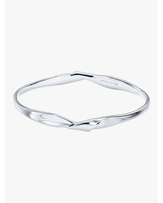 Ippolita - Metallic Classico Twisted Ribbon Bangle - Lyst