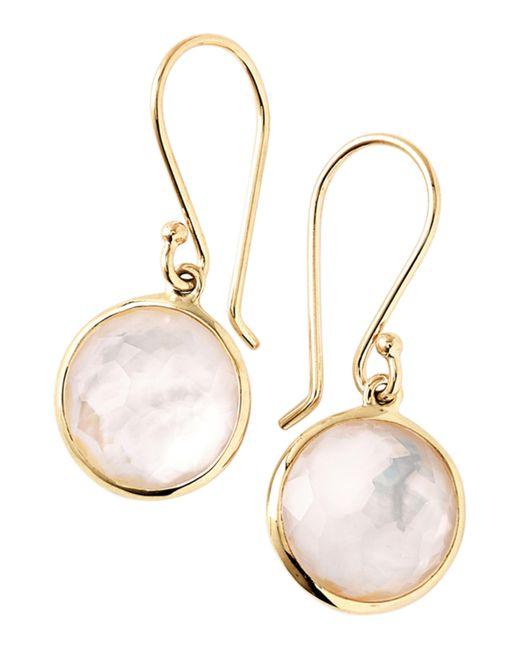 Ippolita - Metallic Lollipop Mother-of-pearl Drop Earrings - Lyst