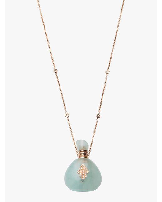 Jacquie Aiche - Multicolor Aquamarine Potion Bottle Necklace - Lyst