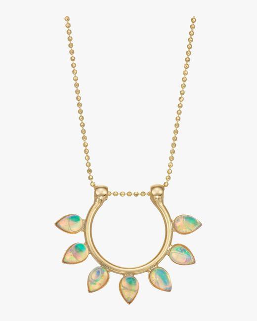 Lionette White Dido Necklace