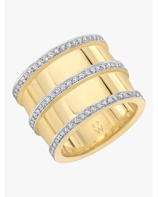 Emily P. Wheeler - Metallic Double Cigar Ring - Lyst