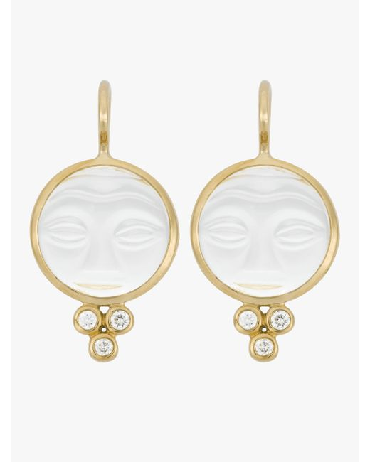 Temple St. Clair - Multicolor Classic Trio Earrings - Lyst