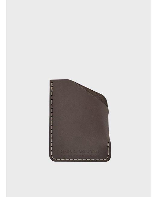 Makr | Gray Charcoal Angle Wallet for Men | Lyst
