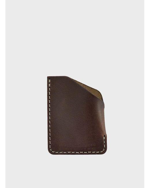 Makr | Bark Brown Angle Wallet for Men | Lyst