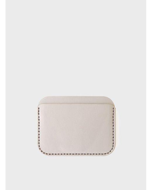 Makr | Gray Grey Round Luxe Wallet for Men | Lyst