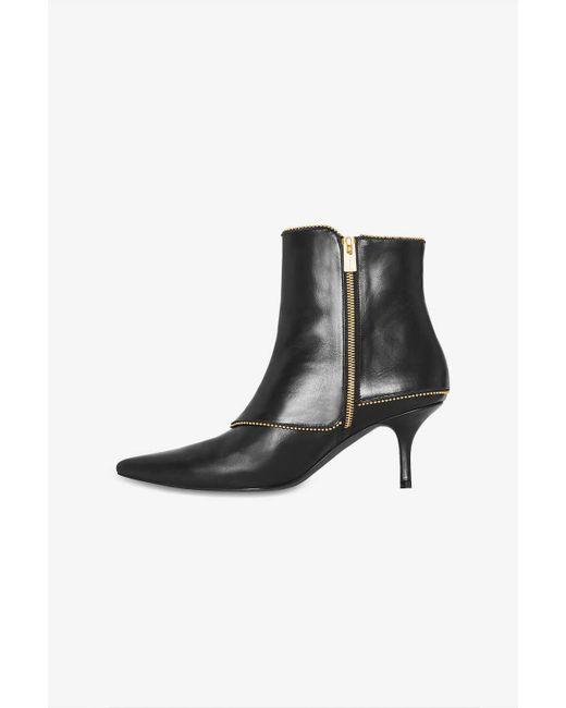 d4d969e4d4279f ... Anine Bing - Ava Boots - Black - Lyst ...