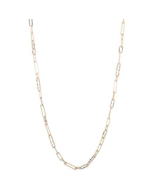 Alexis Bittar - Metallic Crystal Encrusted Link Strand Necklace - Lyst