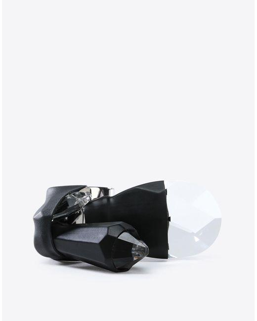 Maison Margiela - Black Bonded Chandelier Ring - Lyst