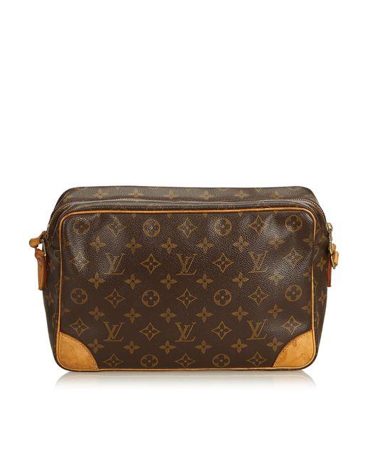 0d6ee6095b29 ... Louis Vuitton - Brown Monogram Trocadero 30 - Lyst ...