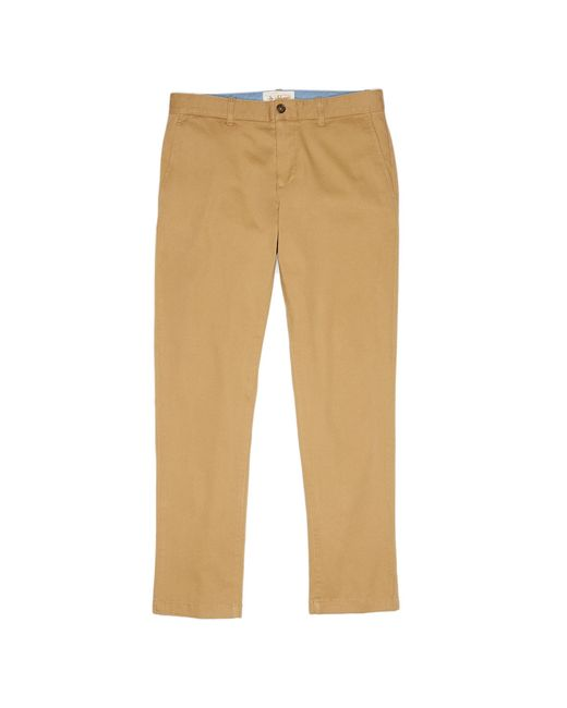 Original Penguin - Natural Twill Slim Fit Chino Pant for Men - Lyst