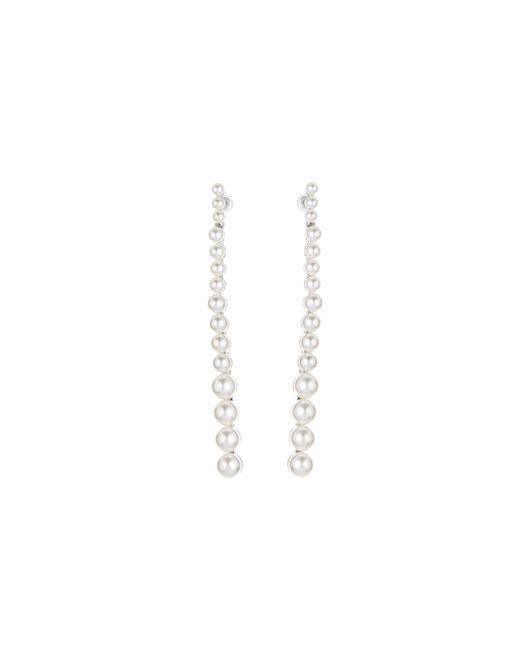 Oscar de la Renta - Multicolor Pearl Strand Earrings - Lyst