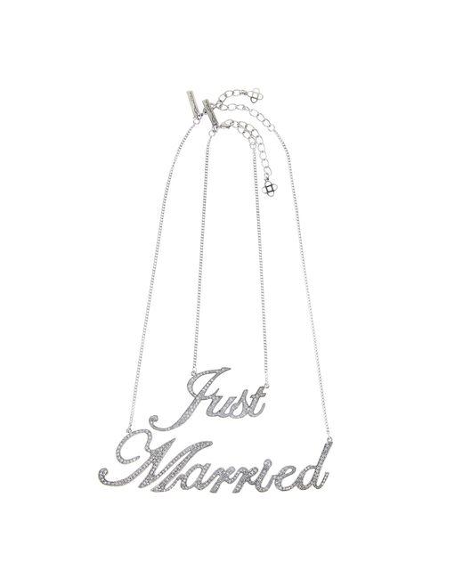 Oscar de la Renta | Multicolor Just Married Necklace | Lyst