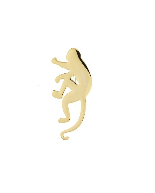 Oscar de la Renta - Orange Monkey Brooch - Lyst