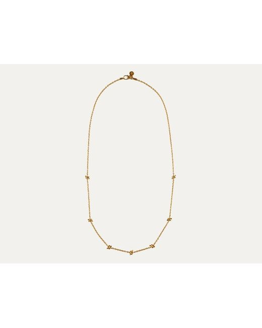 Davina Combe | Metallic Gold Knot Necklace | Lyst