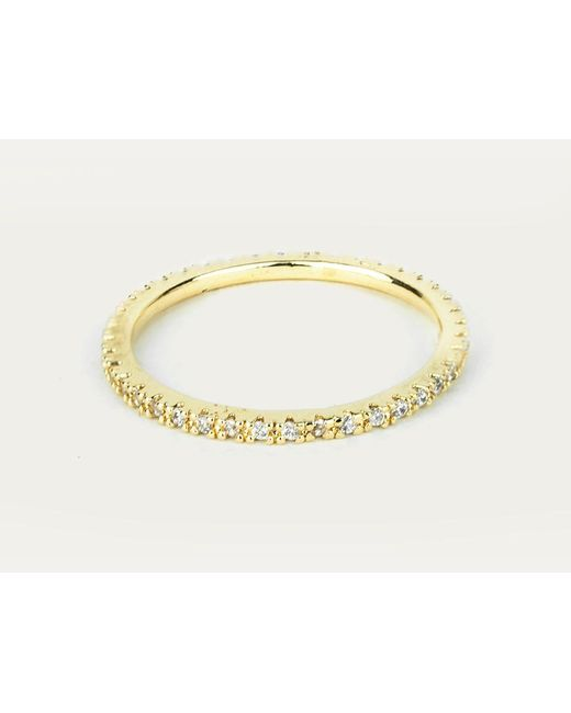 Astrid & Miyu | Metallic The Perfect One Ring In Gold | Lyst