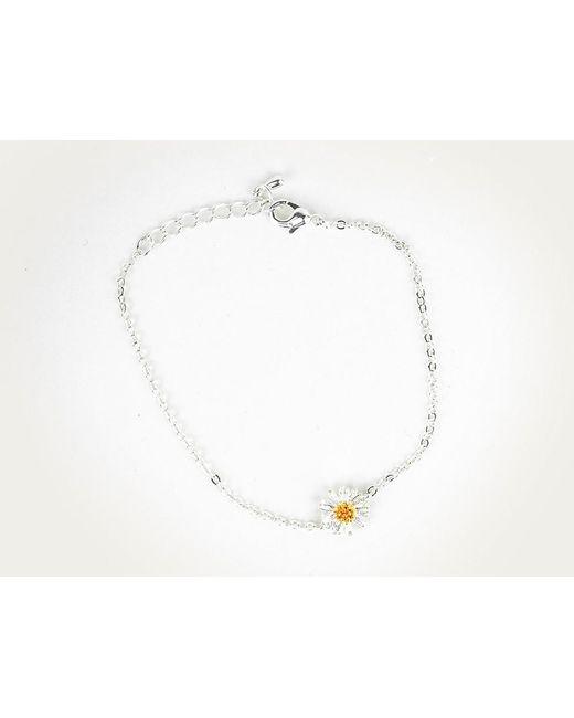 Astrid & Miyu | White My Daisy Bracelet | Lyst