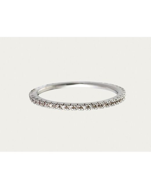 Astrid & Miyu | Metallic The Perfect One Ring In Silver | Lyst