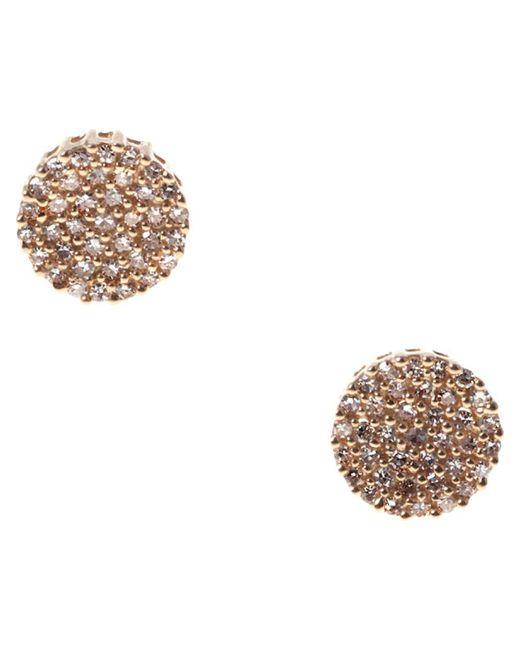 Demitasse | Metallic Demi Dot Earing | Lyst