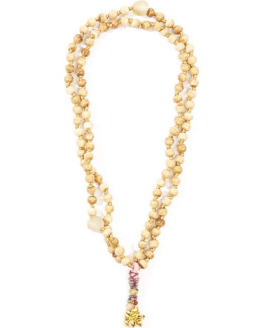 Perle By Lola | Natural Bell Charm Necklace | Lyst