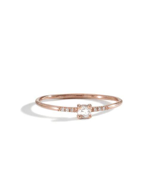 Blanca Monros Gomez | Pink 18k Pronged Ring | Lyst