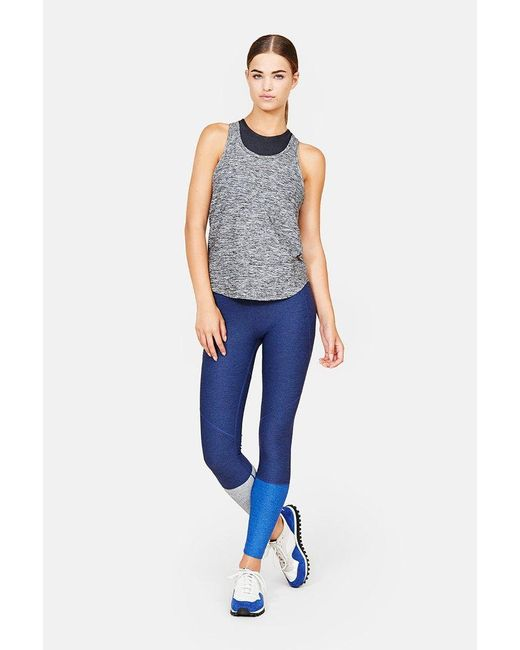 Outdoor Voices | Blue Dipped Warmup Legging | Lyst