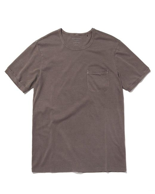 Outerknown - Gray Sojourn Pocket Tee for Men - Lyst