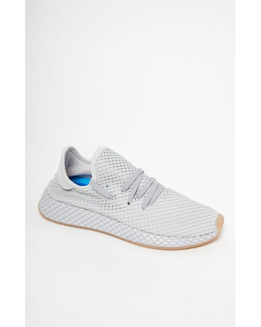 Adidas - Gray Deerupt Runner Shoes for Men - Lyst ... 1f9e3943fd5