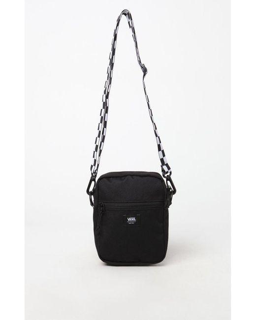 527e3bfa77a Vans - Black Checker Crossbody Bag for Men - Lyst ...
