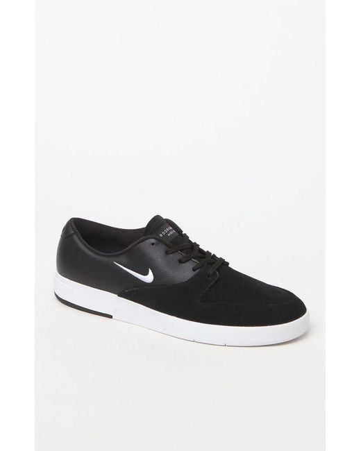 Nike - Zoom Paul Rodriguez Ten Black & White Shoes for Men - Lyst