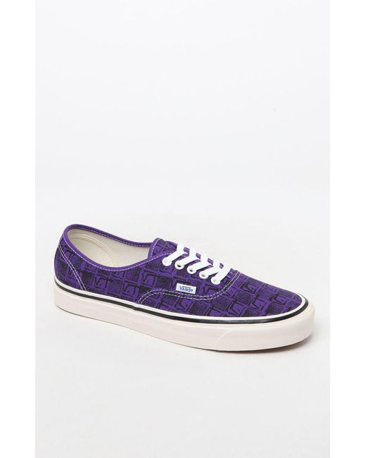 Vans - Authentic 44 Dx Anaheim Plimsolls In Purple Va38enu6b for Men - Lyst  ... a24a37fdf435