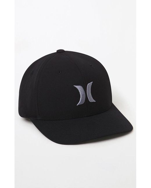 Lyst - Hurley Dri-fit One   Only Hat in Black for Men dfb3feb17fcd