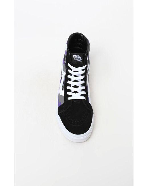 75f4931444 Lyst - Vans Pop Camo Sk8-hi Reissue Shoes in Purple for Men - Save 9%