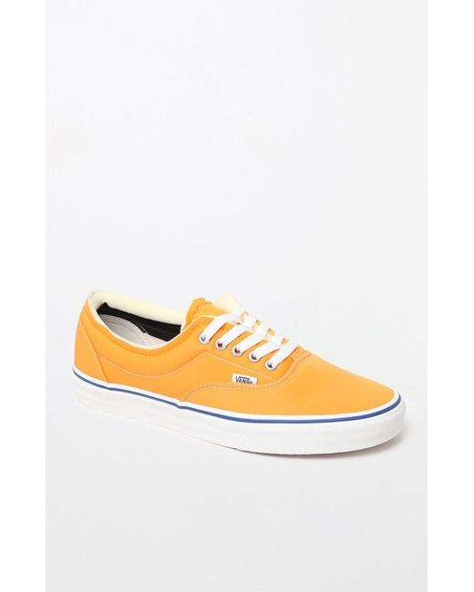99b2df2fbb0d0f Vans - Orange Foam Era Shoes for Men - Lyst ...
