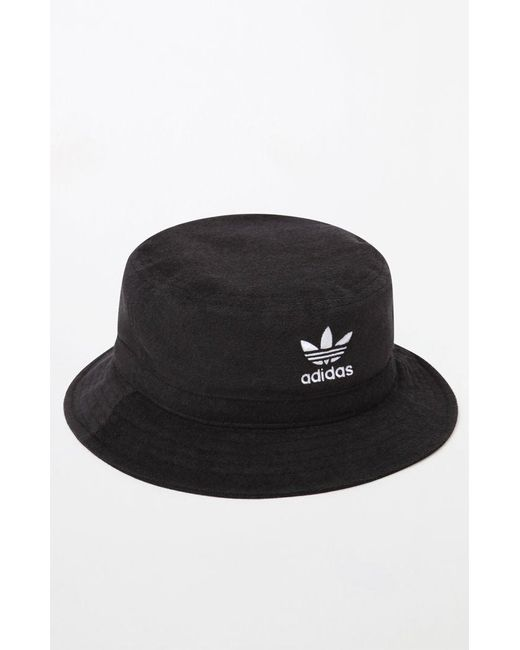 Adidas - Black Terry Bucket Hat for Men - Lyst ... 312a8c79b19