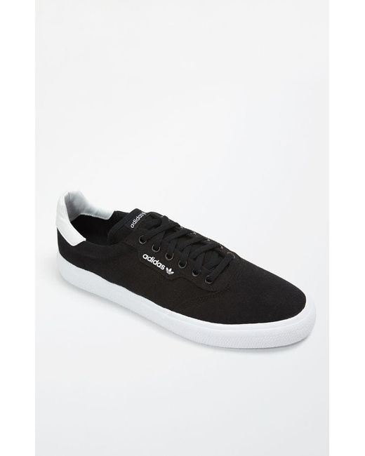 7c0277d0408c Lyst - Adidas 3mc Vulc Black   White Shoes in Black for Men
