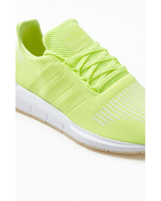 ff4c64ca0a995 Lyst - adidas Neon Yellow Swift Run Shoes in Yellow for Men