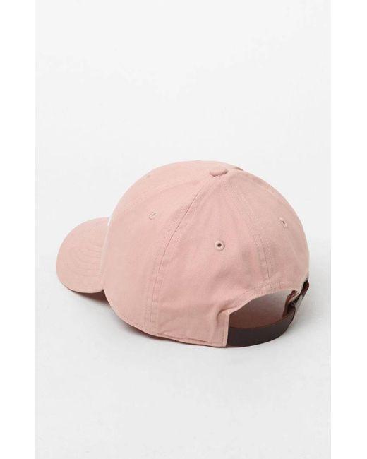 d71c3da7b40 ... Champion - Pink Classic Twill Lab Dip Strapback Dad Hat for Men - Lyst  ...