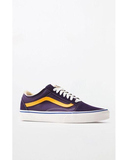 2c1d327997 Lyst - Vans Purple Foam Old Skool Shoes in Purple for Men