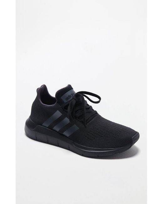 ea46f81b3 Lyst - adidas Swift Run Black Shoes in Black for Men