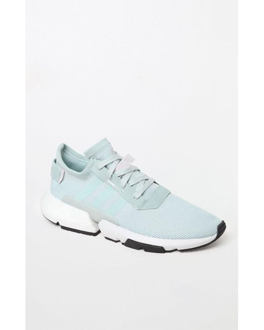 finest selection 5ed06 389c7 Adidas - Blue Pod-s3.1 Mint Shoes for Men - Lyst ...