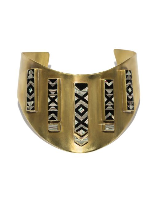 Pamela Love | Metallic Fordite Collar | Lyst